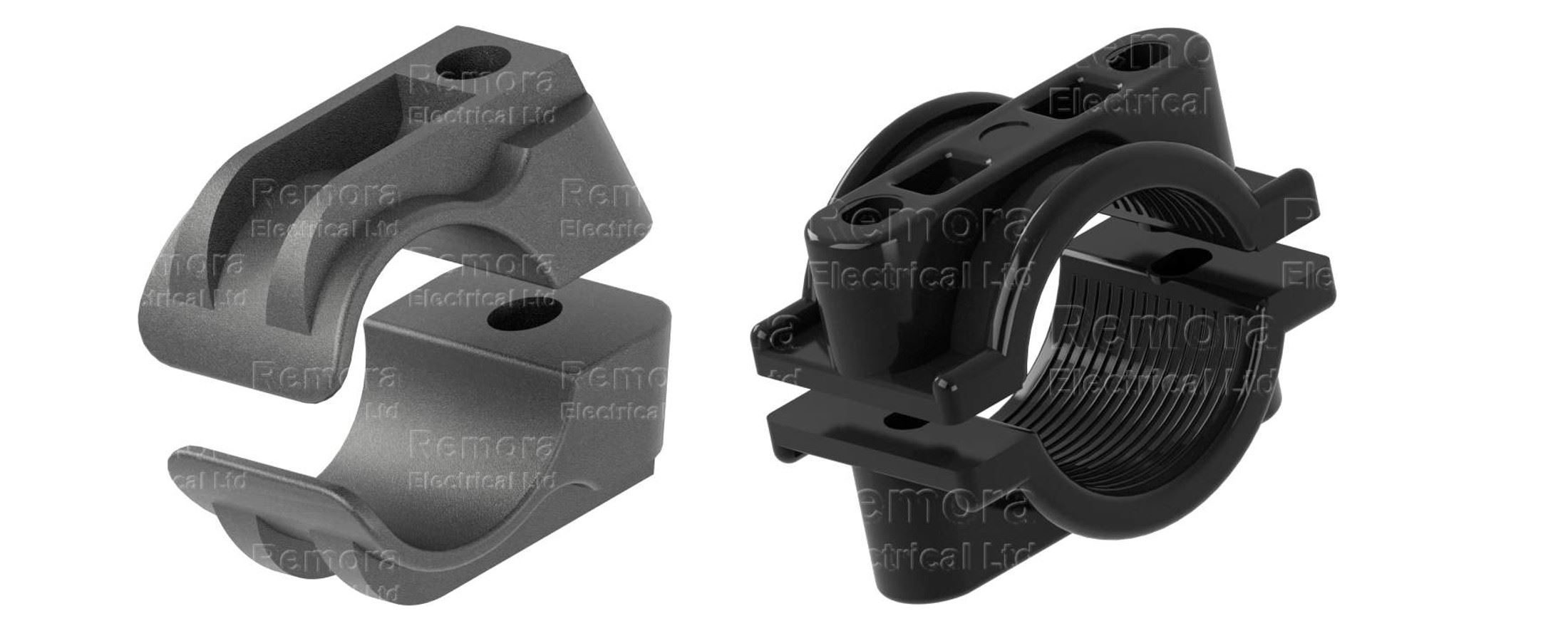 cleats plastic two part