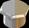 NPT Hazardous Hex Head Stopping Plugs - Brass