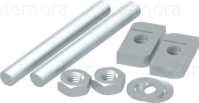 Cleat Fixing Kits - Double Bolt