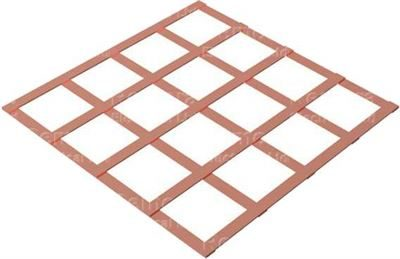 lattice-copper-earth-mats